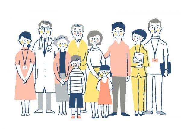 障がい児や医療従事者の心の負担を軽減するためにサービスを提供しているグループ
